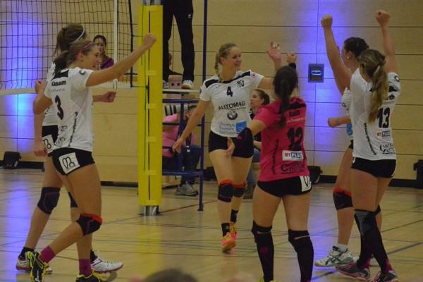 Die GCDW-Mädels haben einen Grund zum jubeln, denn sie stehen im Pokalachtelfinale.