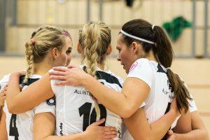 Die GCDW-Damen beim Spiel gegen Münster
